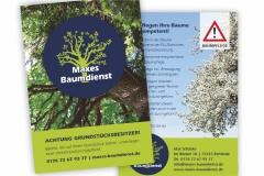 Maxes Baumdienst_Flyer